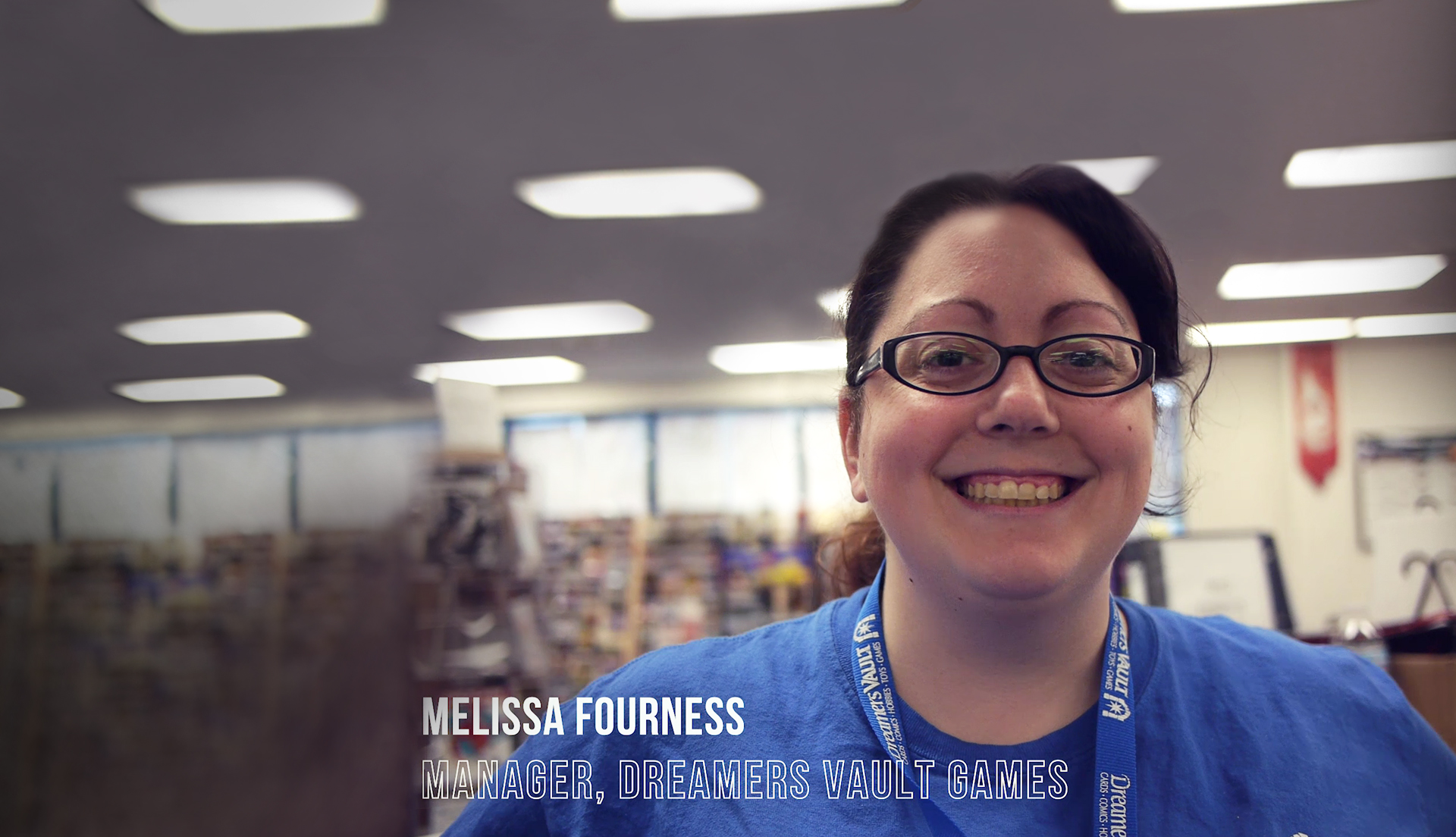 Header image, Melissa Fourness of Dreamers Vault Games
